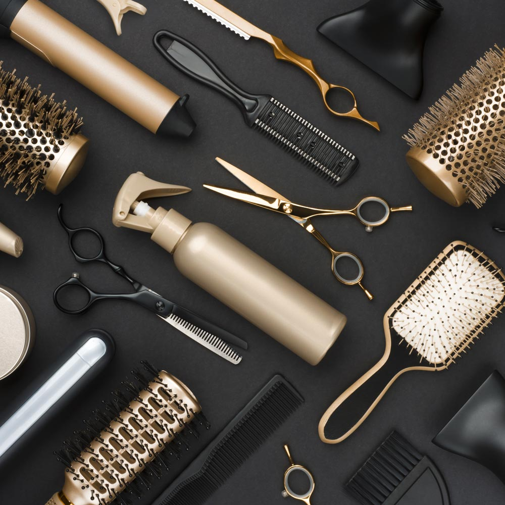 outils coiffure